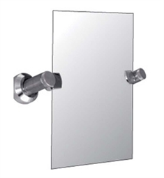 Watermark 25-0.9A Titanium Rectangular Mirror