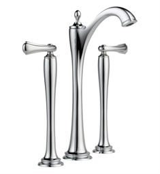 Brizo Charlotte Two Handle Widespread Vessel Lavatory Faucet - Handles not included