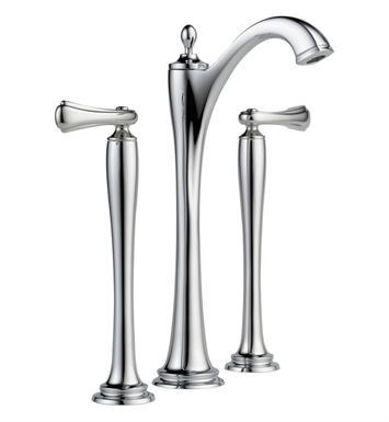 Brizo 65485LF-PN Charlotte Two Handle Widespread Vessel Lavatory Faucet - Handles not included With Finish: Polished Nickel