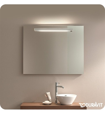 Duravit FO9614 Fogo Bathroom Mirror with Lighting