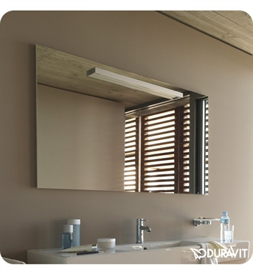 Duravit FO9681 Fogo Bathroom Mirror with Lighting