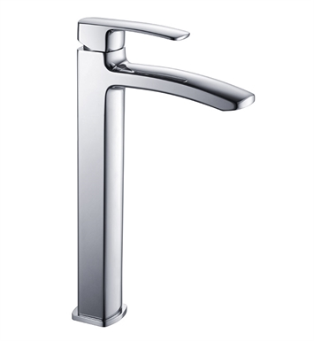 Fresca FFT9162CH Fiora Single Hole Vessel Mount Bathroom Faucet in Chrome