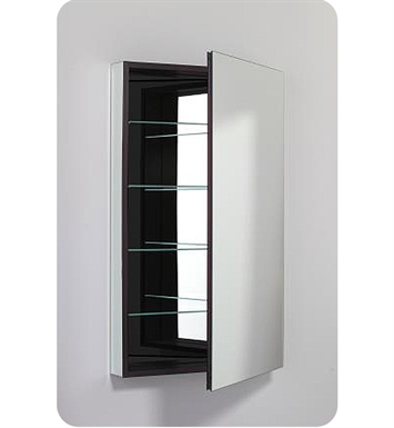 "Robern PLM2440BBLE PL Series 23-1/4"" x 39-3/8"" Customizable Medicine Cabinet w/ Wide Flat Door With Cabinet Hinge: Left with Electric Option And Mirror Type / Lens: Beveled And Style and Color: Black Interior"