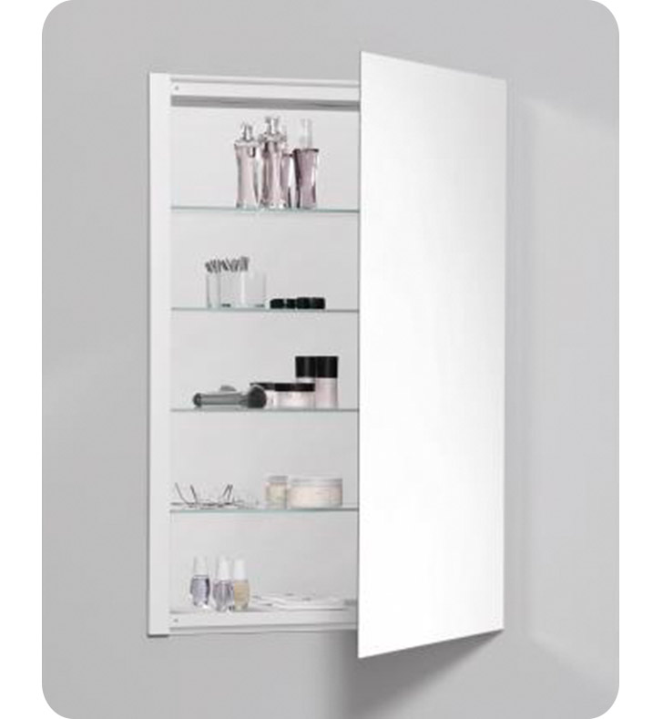 Robern RC2436D4 R3 Series 24 X 36 Medicine Cabinet With Wide Flat