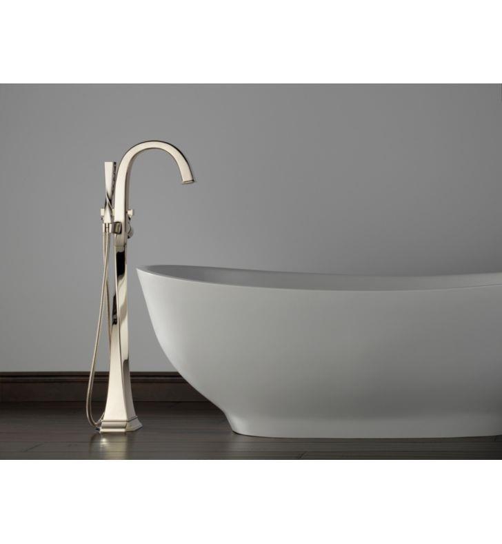 Brizo T70130 Virage Single Handle Freestanding Tub Filler