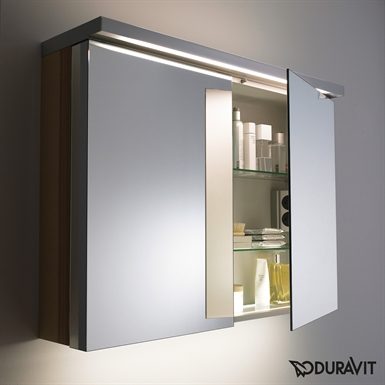 Duravit FO9676 Fogo Medicine Cabinet with Lighting