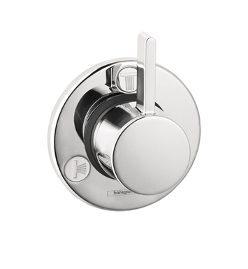 Hansgrohe 04232000 S Trio Quattro Diverter Trim With Finish: Chrome