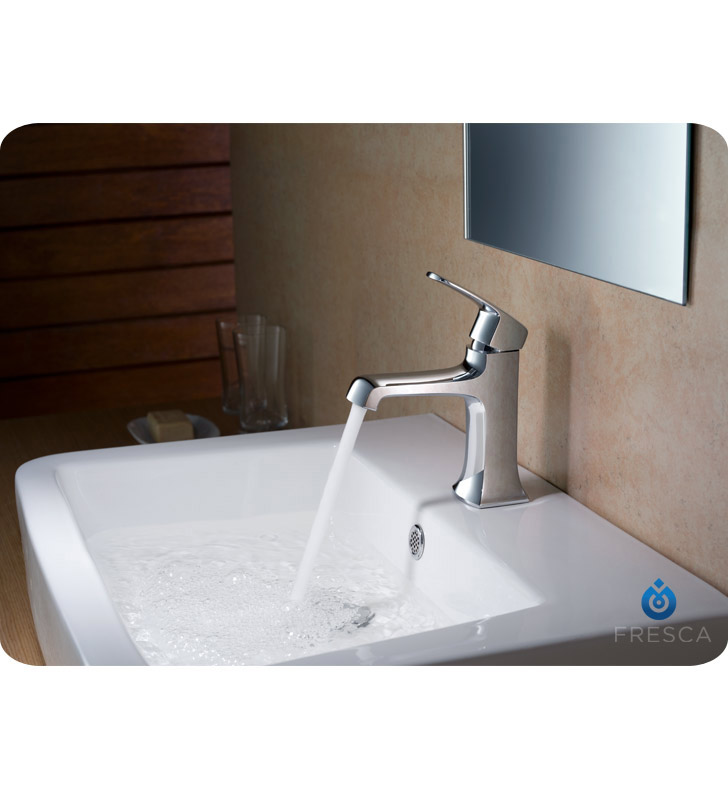 Fresca Fft3501ch Verdura Single Hole Mount Bathroom Faucet In Chrome