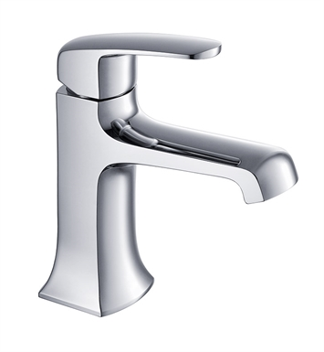 Fresca FFT3501CH Verdura Single Hole Mount Bathroom Faucet in Chrome