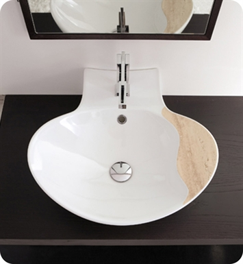 Nameeks 8202 Scarabeo Bathroom Sink