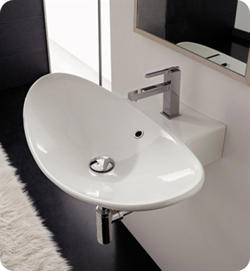 Nameeks 8203 Scarabeo Bathroom Sink