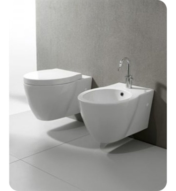 Nameeks GSI-661211 Panorama One-Piece Round Toilet with Seat