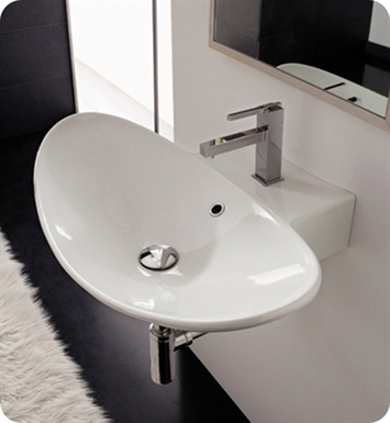 Nameeks 8205 Scarabeo Bathroom Sink