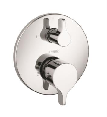 "Hansgrohe 04353 Ecostat S/E 6 3/4"" Thermostatic Trim with Volume Control and Diverter"