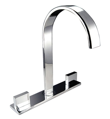 Fresca FFT3801CH Sesia Widespread Mount Bathroom Faucet in Chrome