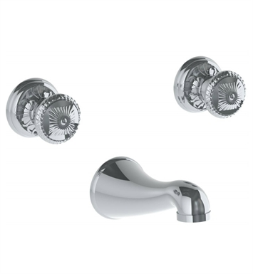 Watermark 150-5TO-AZ1-VC Azahar Wall Mounted Faucet With Finish: Velvet Chrome <strong>(USUALLY SHIPS IN 8-9 WEEKS)</strong>
