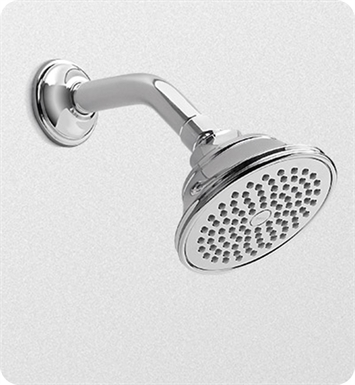 "TOTO TS300AL51#BN Traditional Collection Series A Single-spray Showerhead 4-1/2"" - 2.0 gpm With Finish: Brushed Nickel"