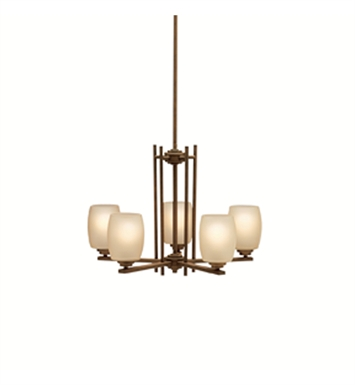 Kichler 1896OZ Eileen Collection Chandelier 5 Light in Olde Bronze