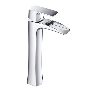 Fresca FFT3072CH Fortore Single Hole Vessel Mount Bathroom Faucet in Chrome