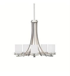 Kichler Hendrik Collection Chandelier 5 Light in Brushed Nickel