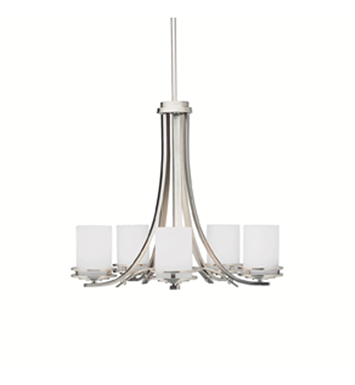 Kichler 1672OZ Hendrik Collection Chandelier 5 Light With Finish: Olde Bronze