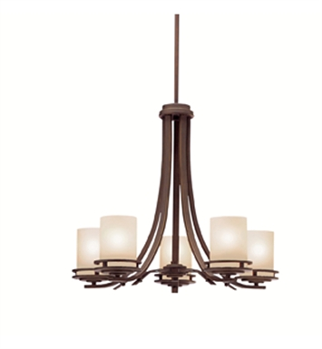 Kichler 1672OZ Hendrik Collection Chandelier 5 Light in Olde Bronze