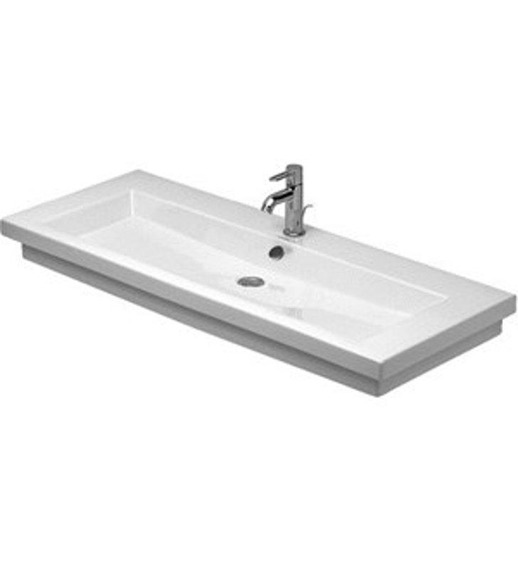 Duravit Ada Sink : ... Duravit 2nd Floor One Hole Bathroom Sink - ADA Ground Version