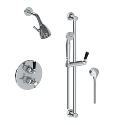 Watermark 34-6.75TO Haley Thermostatic Shower Set with Handshower