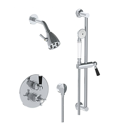 Watermark 34-6.4TO Haley Thermostatic Shower Set with Handshower