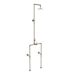 Watermark 38-6.1FLTHRM-EV4 Elan Vital Thermostatic Exposed Floor Shower System