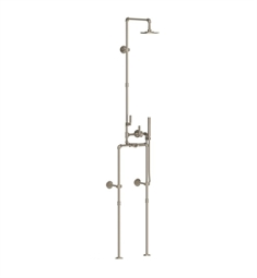 Watermark 38-6.71FLTHRM-EV4 Elan Vital Thermostatic Exposed Floor Shower with Hand Shower System