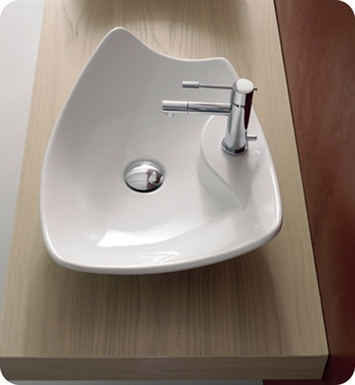 Nameeks 8051-R Scarabeo Bathroom Sink