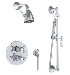 Watermark 206-6.75TO Paris Thermostatic Shower Set with Handshower