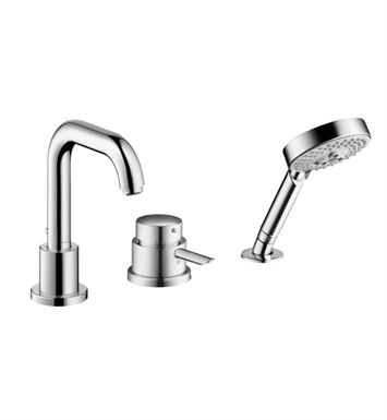 Hansgrohe 04128000 Focus S 3 Hole Thermostatic Tub Filler Trim