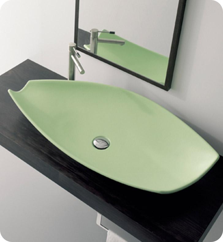 Nameeks 8054 scarabeo bathroom sink for Nameeks bathroom sinks