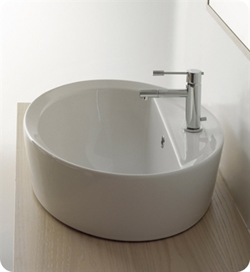 Nameeks 8056-A-R Scarabeo Bathroom Sink