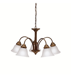 Kichler Wynberg Collection Chandelier 5 Light in Olde Bronze