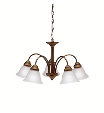 Kichler 2093OZ Wynberg Collection Chandelier 5 Light in Olde Bronze