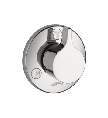 Hansgrohe 04354000 SE Trio Quattro Diverter Trim With Finish: Chrome