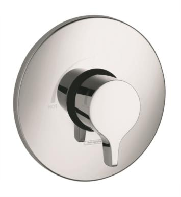 "Hansgrohe 04355820 Ecostat S/E Series 6 3/4"" Pressure Balance Trim With Finish: Brushed Nickel"