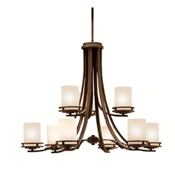 Kichler 1674NI Hendrik Collection Chandelier 9 Light With Finish: Brushed Nickel