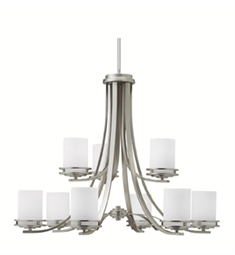 Kichler Hendrik Collection Chandelier 9 Light in Brushed Nickel