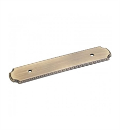 Hardware Resources B812-96R Backplate for Cabinet Pull with Rope Detail