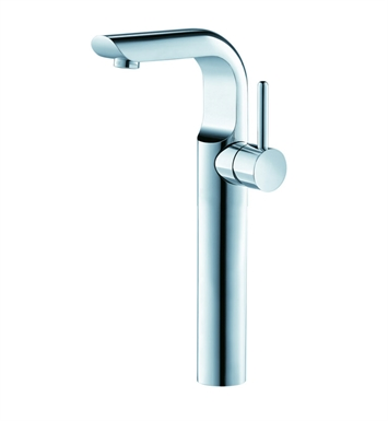 Fresca Platinum FFT2602CH Mazaro Single Hole Vessel Mount Bathroom Faucet in Chrome