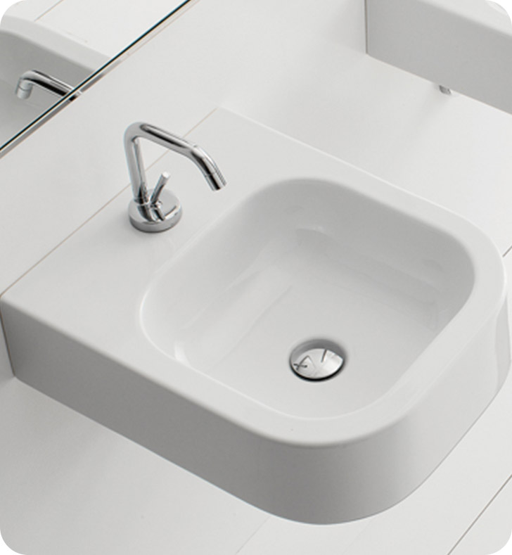 Nameeks 8047 b scarabeo bathroom sink for Nameeks bathroom sinks
