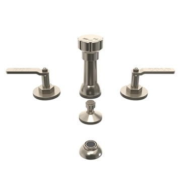 Watermark 38-4-EV4-UPB Elan Vital Four Hole Bidet Faucet With Finish: Uncoated Polished Brass <strong>(USUALLY SHIPS IN 8-9 WEEKS)</strong>