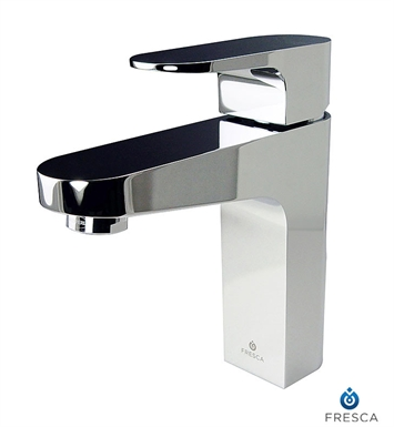 Fresca Platinum FFT3001CH Velino Single Hole Mount Bathroom Faucet in Chrome