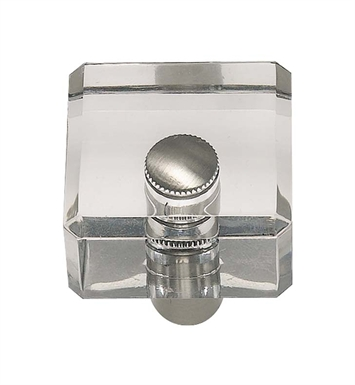 "Atlas Homewares 3145CH 1"" Cabinet Knob from the Optimism Lucite Collection With Finish: Polished Chrome"