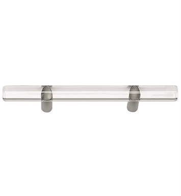 "Atlas Homewares 3147 6"" Cabinet Pull from the Optimism Lucite Collection"