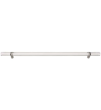"Atlas Homewares 3148CH 14-3/8"" Cabinet Pull from the Optimism Lucite Collection With Finish: Polished Chrome"